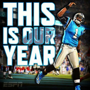 Carolina Panthers This is our year and we are going all the way! Super ...