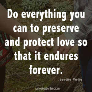 . No one else will ever value your marriage as much as you and your ...