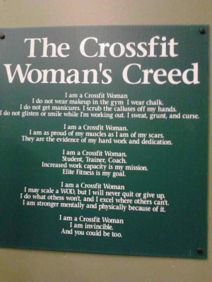 ... on my bike and toddled off to crossfit i ve heard about crossfit