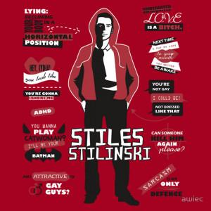 awiec › Portfolio › Stiles Stilinski Quotes Teen Wolf
