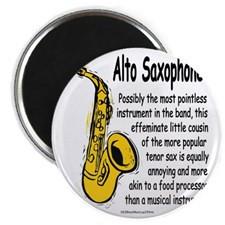 Alto Saxophone Magnet for