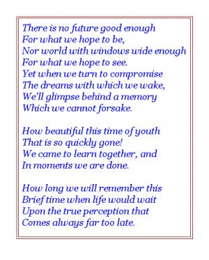 Funny Graduation Poems
