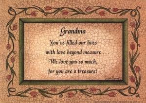 Homepage › Inspirational › Grandma »