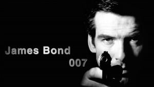 """The name's Bond, James Bond""""- James Bond, James Bond (each ..."""