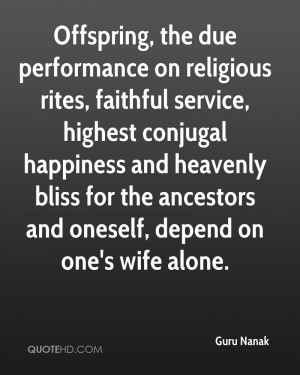 faithful wife