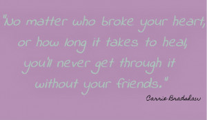 Quotes About Best Guy Friends Leaving Friend quote- satc paper doll