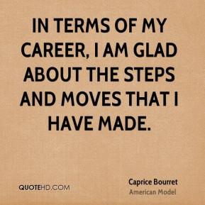 Caprice Bourret Quotes