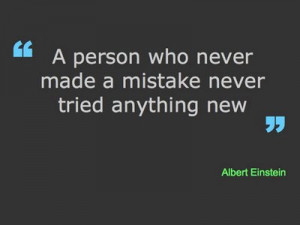 Home > Quotes > Motivational Quote on Mistakes