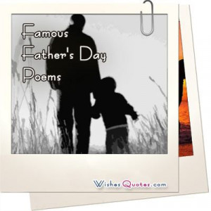 Famous Father's Day Poems