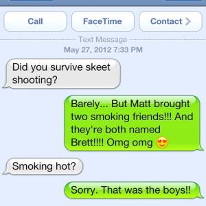 What Brett(s) happened to send to my mom! @merrittcloud
