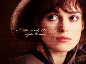 Pride and Prejudice Elizabeth