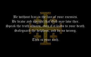 Ibelin's Oath by spaero2011