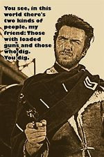 The Outlaw Josey Wales (1976) Clint Eastwood cult western movie poster ...