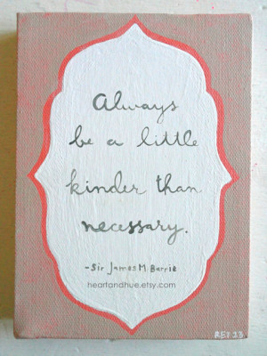 Sir James Barrie Quote (5x7 Canvas)