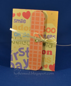 Gift Card Holder - Baby Sayings