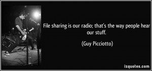 More Guy Picciotto Quotes