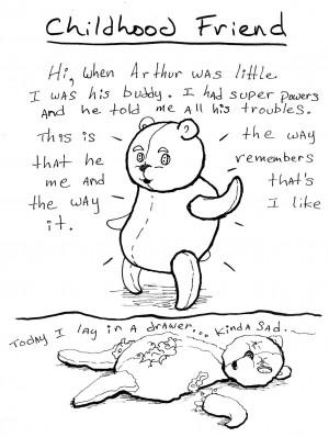 Childhood Friend Drawing