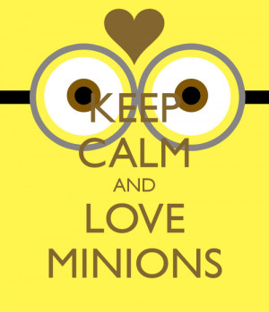 Most popular tags for this image include: minions and keep calm
