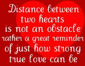 Quotes About Love And Distance Military #2