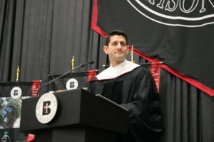 ... Paul Ryan told graduating seniors on Saturday ( video here ) at