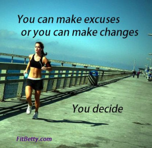 thought I would share this video with you all. There are no excuses ...