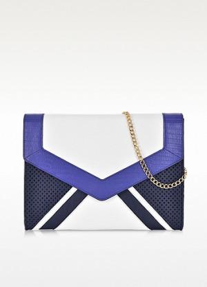 Sophia Color Block Leather...