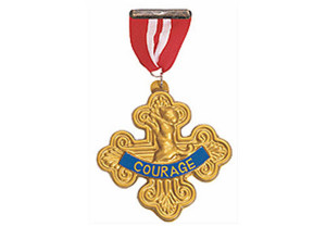 BADGE OF COURAGE for the Cowardly Lion from Wizard of Oz
