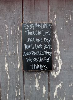 Hand painted wood sign/ Farm wood / distressed finish inspiring quote