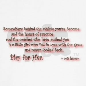 softball player quotes