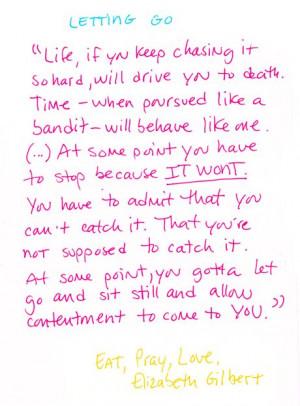 Elizabeth GIlbert - Eat Pray Love #quote #book #quotes