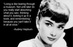 audrey hepburn quotes elegance