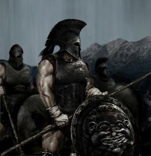 Greek Hoplites (heavy infantry)