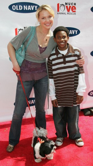 Malcolm David Kelley Actors Katherine Heigl L and Malcolm David Kelley