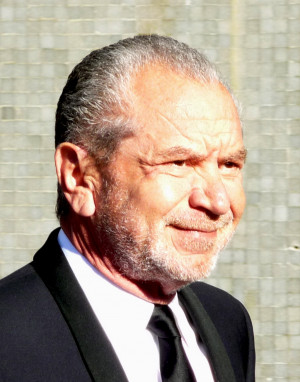 Lord Sugar: he's not as sweet as his name suggests