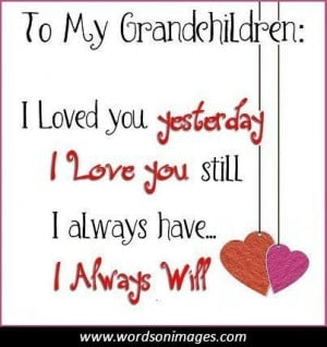 Inspirational Quotes About Grandchildren