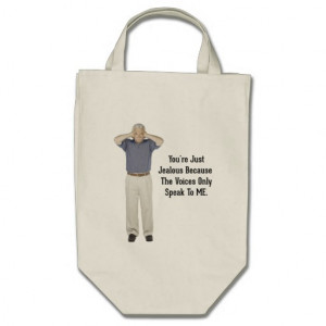 the_voices_funny_sayings_quotes_tote_bags ...
