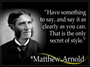 Matthew Arnold (1822 - 1888) was a British poet and social critic. He ...