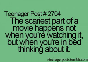 fact, horror, post, posts, quotes, sayings, teenage, teenager ...
