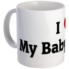 Love My Baby Mama Mug for