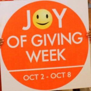 Joy Of Giving Quotes Joy of giving: it is time to