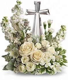 CRYSTAL CROSS FLOWERS OF FAITH in Bradenton, FL - TROPICAL INTERIORS ...