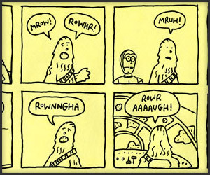 Chewbacca Had A Speaking Part