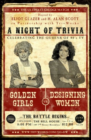 Event Recap: Golden Girls vs Designing Women Trivia Night
