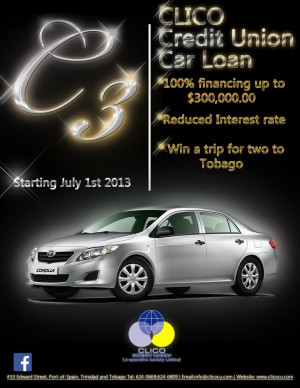 Clico Credit Union C3 Car Loan Largejpg