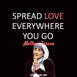 Mother Teresa Quotes With Pictures: