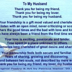 to my husband happy anniversary my love more to my husband happy ...