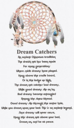 native american dreamcatcher quotes
