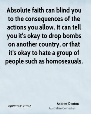 Andrew Denton Faith Quotes