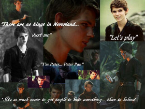 Most popular tags for this image include: robbie kay, once upon a time ...