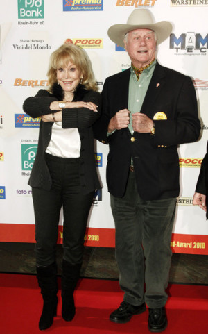 Barbara Eden And Larry